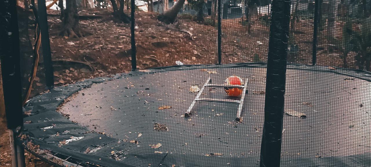 Zanedbaná trampolína