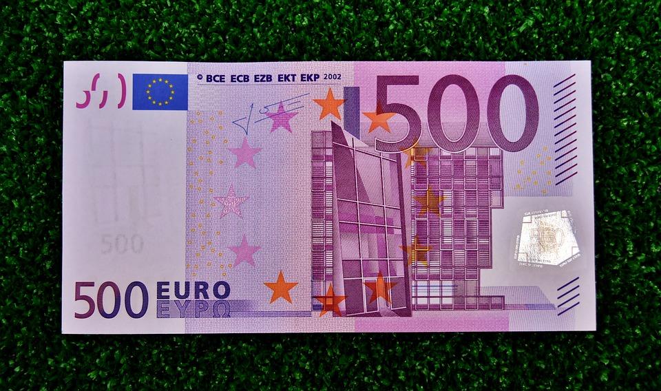 eura pětistovka