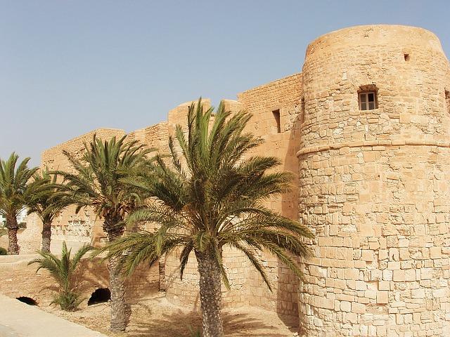 hrad na Djerbě