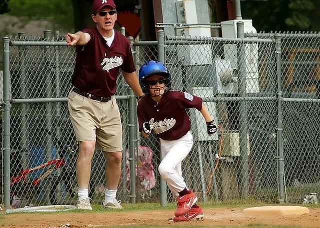 trenér baseballu