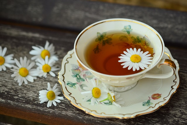heřmánkový čaj