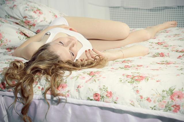 příjemný spánek